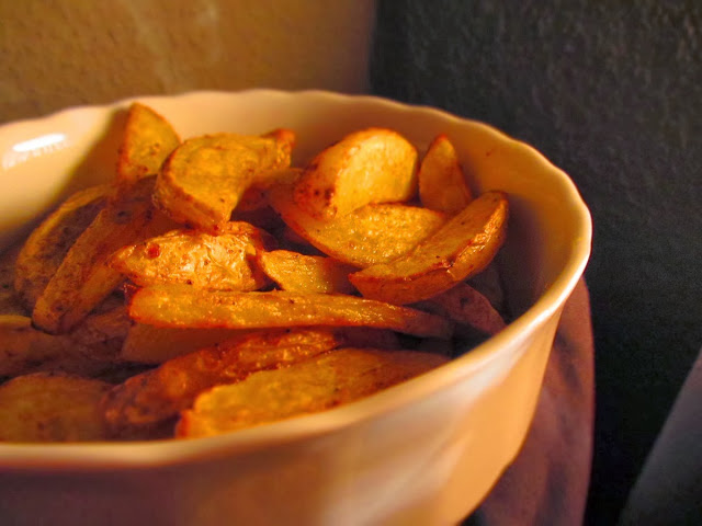 Easy Peasy Knusprige Kartoffelwedges