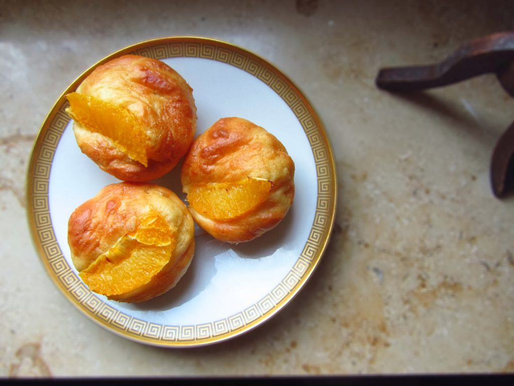 Kalorienarme Orangenmuffins