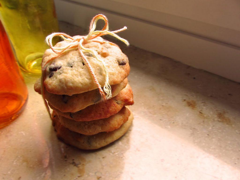 Bananen-Schokocookies