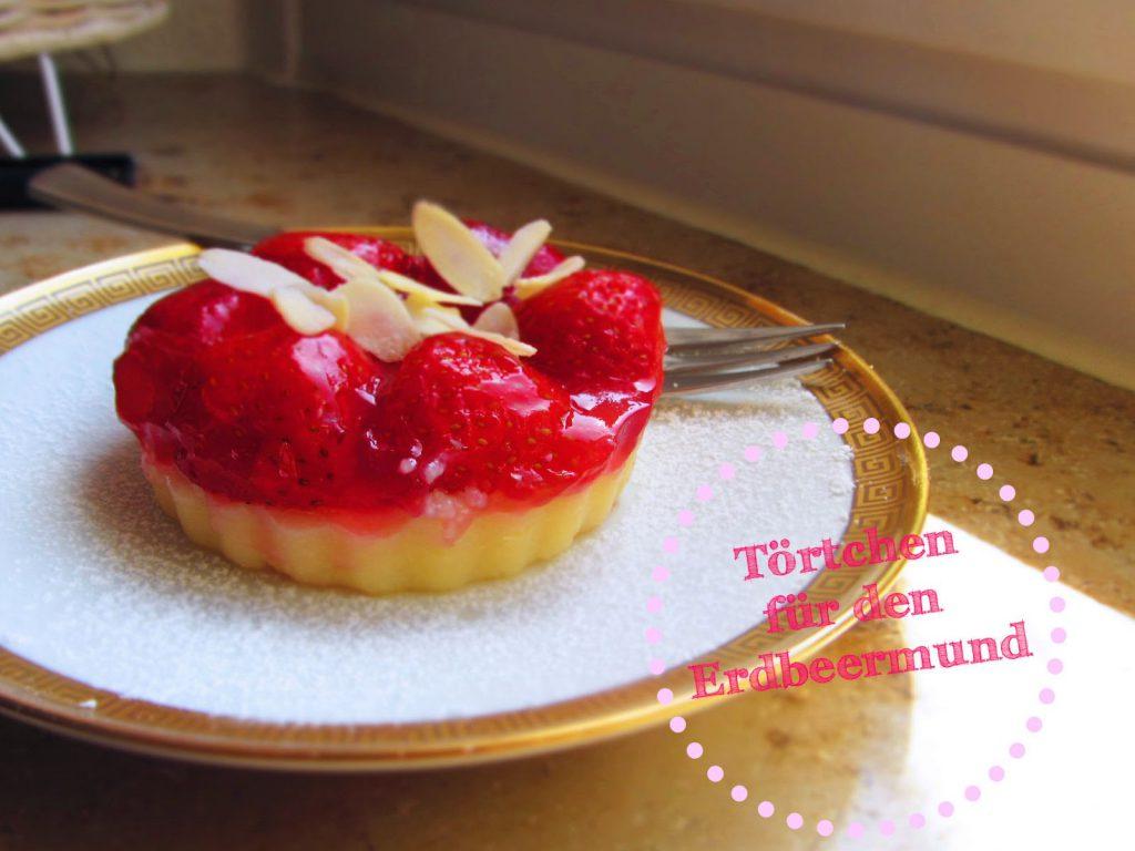 Erdbeer-Grieß-Tartelettes