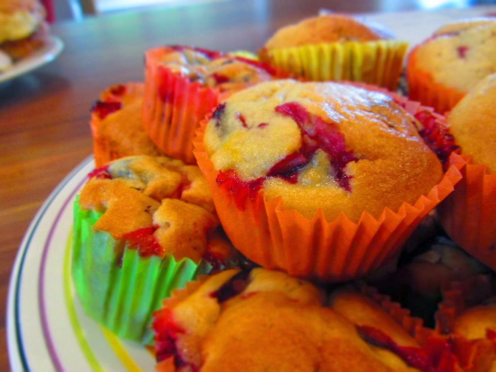 Pflaumen-Joghurt-Muffins