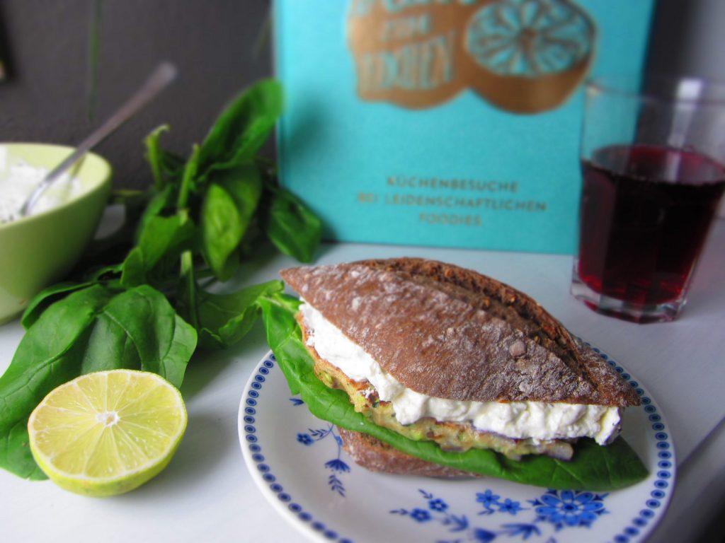 Aus Liebe zum Kochen: Waldgeist-Baguette mit Zucchini, Spinat und Thymian