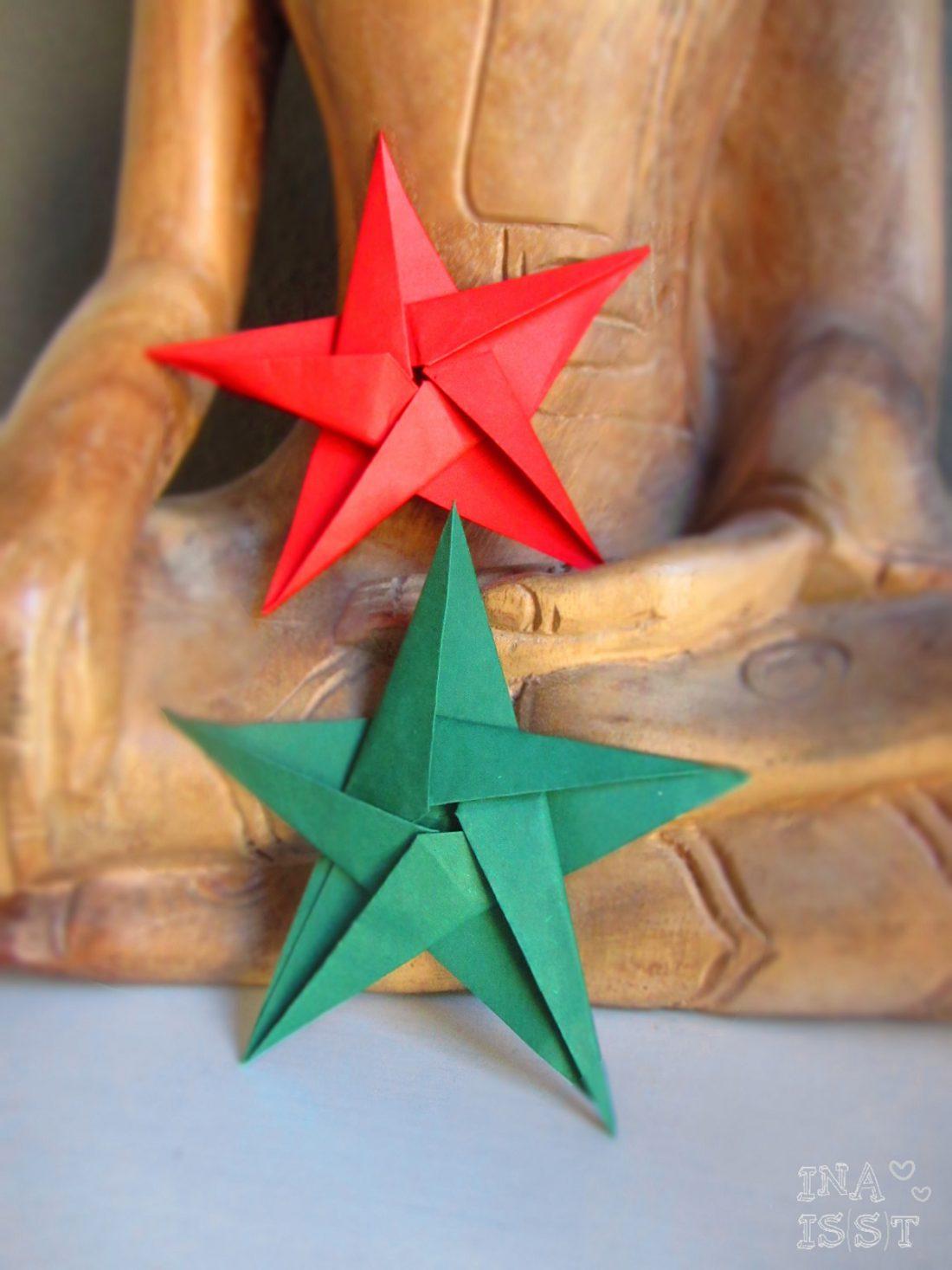 Berühmt DIY Sterne falten #3 - Ina Isst PY91