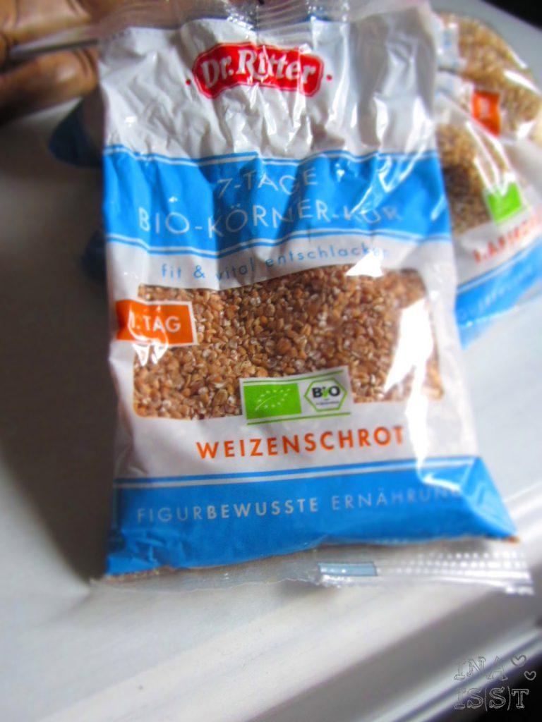 7-Tage Bio-Körner-Kur, Weizenschrot