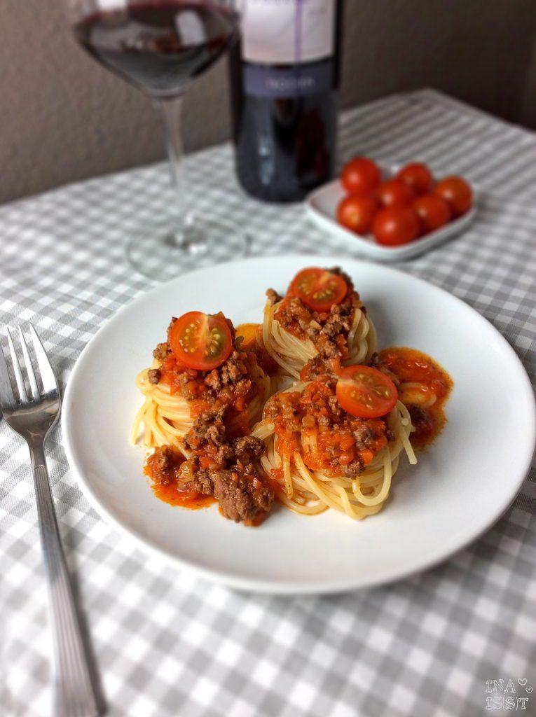 Spaghetti Bolognese Alla Mamma