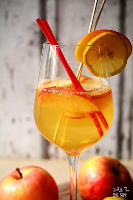 Rezepte für den Herbst mit Äpfeln, Apfel-Cocktail