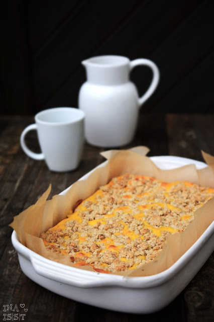 Home Baked: Kürbis-Käsekuchen, Pumpkin cheesecake