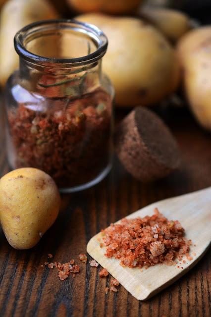 DIY, Bratkartoffelsalz, fried potatoes seasoned salt