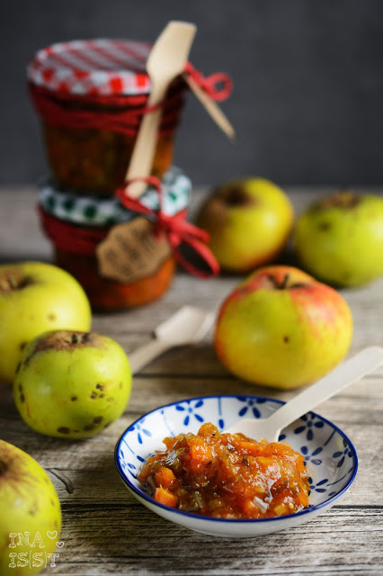 Apfel-Möhren-Relish, Apple Carrot Relish