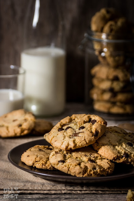 Klassische Chocolate-Chip-Cookies,Classical Chocolate Chip Cookies