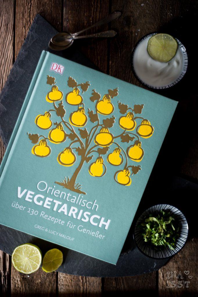 Orientalisch vegetarisch: Kartoffelsalat mit Erbsen und persischen Gewürzen