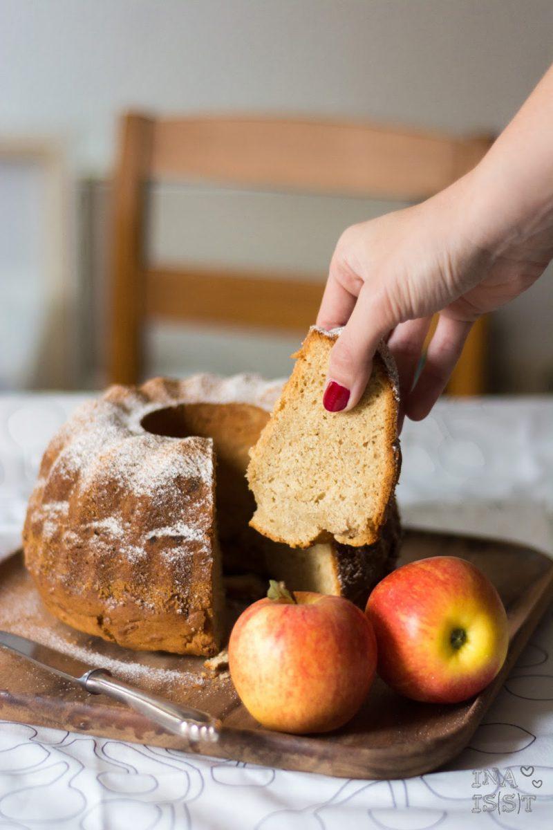 Rezepte für den Herbst mit Äpfeln, Apfel-Gugelhupf