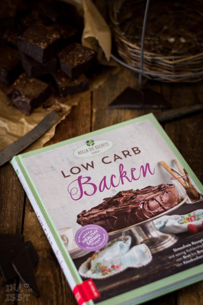 Low Carb Backen; Saftige Brownies; Low Carb Brownies
