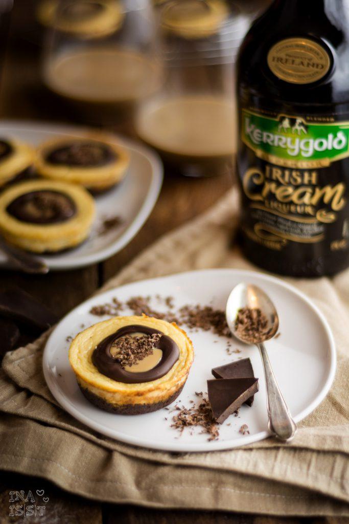 Kerrygold Irish Cream Liqueur;Rezept; Cheesecakes; Käsekuchen; Weihnachten; Blog, Foodblog; Weihnachtskuchen; Weihnachtsdessert