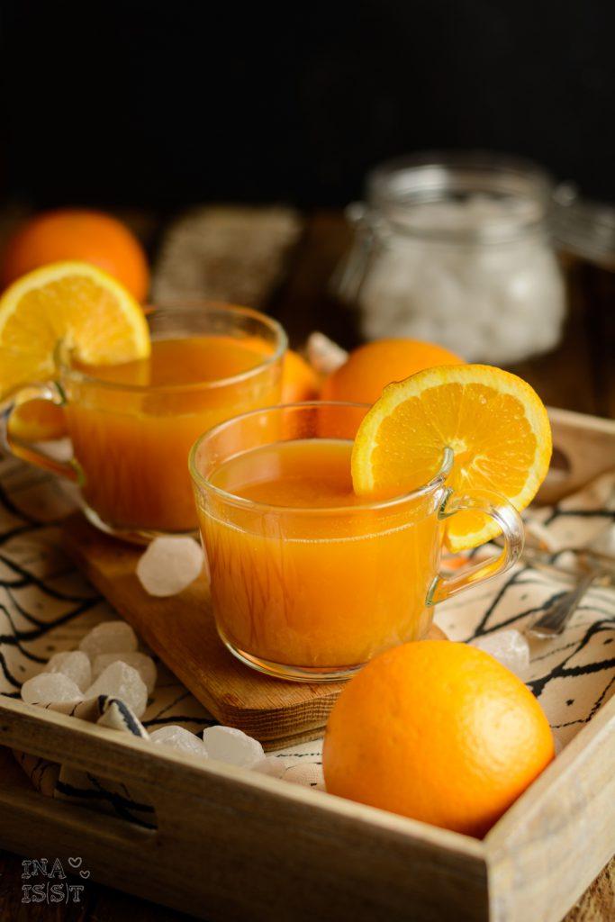 Diamant Zucker Kandis, Kluntje, Punsch, Blog, Rezept, Orangenpunsch
