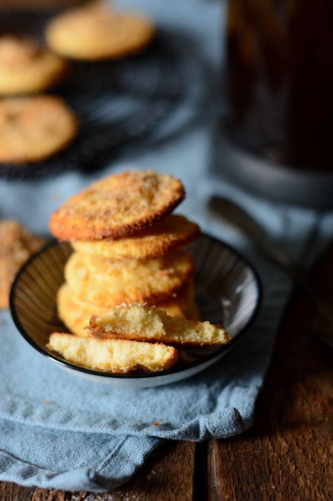 Softe Kokos-Rum-Kekse mit Kokosblütenzucker