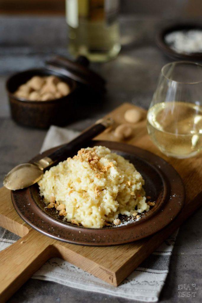 Rezept für Sellerierisotto mit Amarettinibröseln aus dem Kuriositätenladen