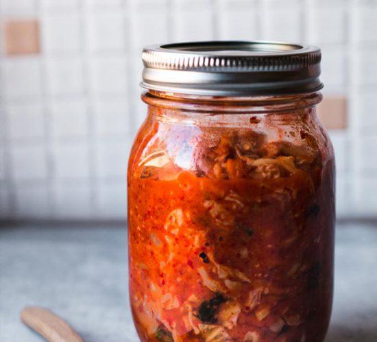 Einfaches koreanisches Kimchi selber machen, Selbstgemachtes Kimchi, Kimchirezept