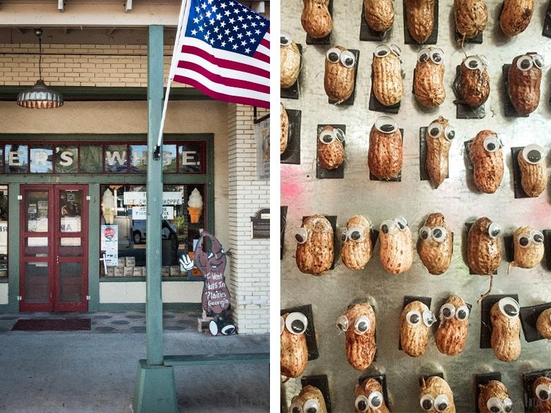 Erdnussernte, Georgia,  Amerika, Plains