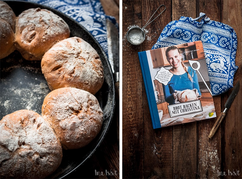 Brot backen, Brotring aus Weizenmehl